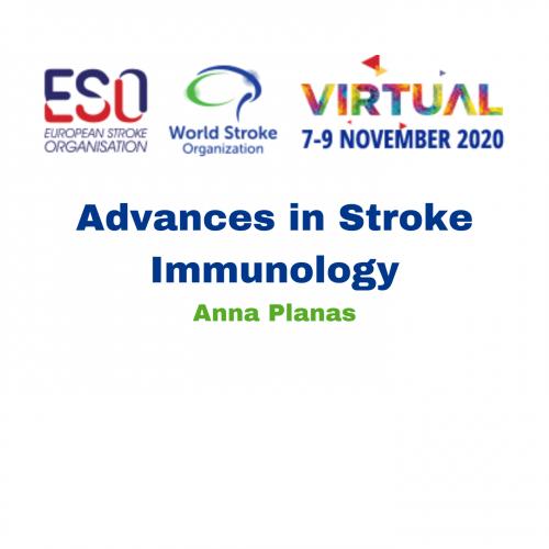 Advances in Stroke Immunology – Anna Planas