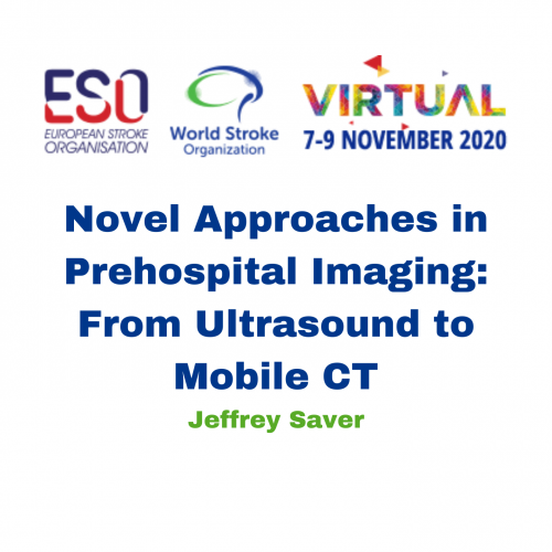 Novel Approaches in Prehospital Imaging: From Ultrasound to Mobile CT – Jeffrey Saver
