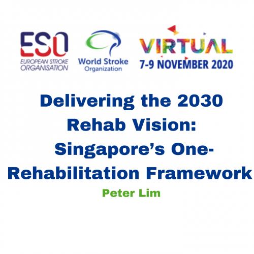 Delivering the 2030 Rehab Vision: Singapore's One-Rehabilitation Framework – Peter Lim