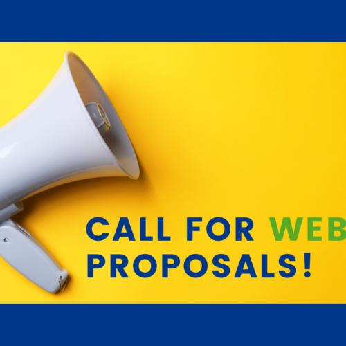 September Call for Webinar Proposals